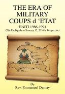 The Era of Military Coups D 'Etat