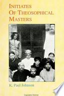 Initiates of Theosophical Masters