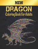 New Dragon Coloring Book for Adults