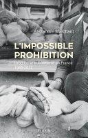 Pdf L'Impossible prohibition Telecharger