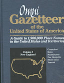 Omni Gazetteer of the United States of America: National index