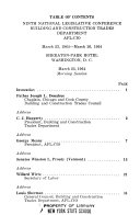 Proceedings of the National Legislative Conference  Building and Construction Trades Department  AFL CIO