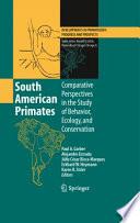 South American Primates Book