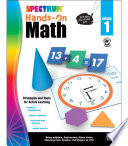 Spectrum Hands On Math   Grade 1
