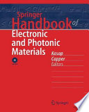 """""""Springer Handbook of Electronic and Photonic Materials"""" by Safa Kasap, Peter Capper, C. Koughia"""