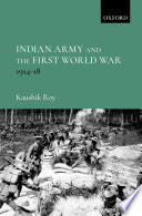 Indian Army and the First World War