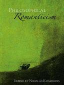 Philosophical Romanticism