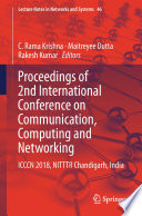 Proceedings of 2nd International Conference on Communication  Computing and Networking