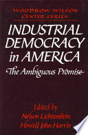 Industrial Democracy in America Book