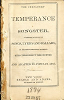 The Crusaders Temperance Songster