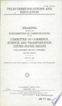 Telecommunications and Education
