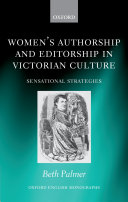 Women s Authorship and Editorship in Victorian Culture