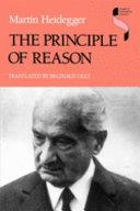 The Principle of Reason