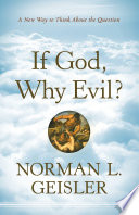 If God  Why Evil