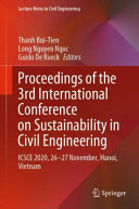 Proceedings of the 3rd International Conference on Sustainability in Civil Engineering Book