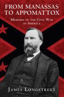 Pdf From Manassas to Appomattox Telecharger