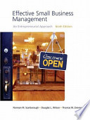 Effective Small Business Management Value Package (Includes Business Plan Pro, Entrepreneurship