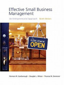 Effective Small Business Management Value Package Includes Business Plan Pro Entrepreneurship