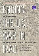 Ending the U.S. War in Iraq
