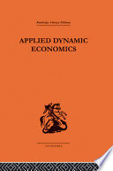 Applied Dynamic Economics