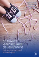 Cover of Children's Learning and Development