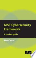 NIST Cybersecurity Framework  A pocket guide