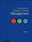 Cover of Principles and Tools for Supply Chain Management