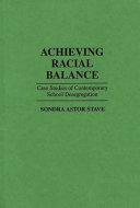 Achieving Racial Balance