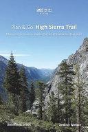 Plan and Go   High Sierra Trail