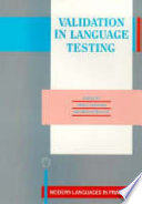 Validation In Language Testing