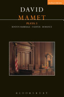 Mamet Plays: 5