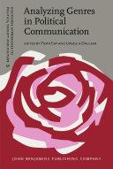 Analyzing Genres in Political Communication Pdf/ePub eBook