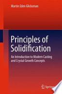 Free Principles of Solidification Read Online
