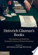 Read Online Heinrich Glarean's Books For Free