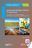 Sustainable Biological Systems for Agriculture Book