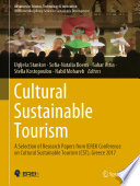 Cultural Sustainable Tourism