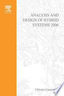 Analysis and Design of Hybrid Systems 2006 Book