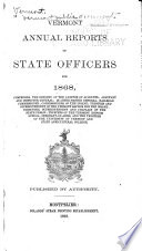 Vermont Public Documents Book PDF