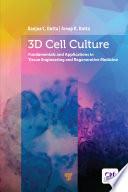 3d Cell Culture Book PDF