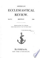 American Ecclesiastical Review