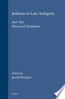 Judaism In Late Antiquity 3 1