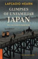 Glimpses of Unfamiliar Japan Pdf/ePub eBook