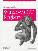 Managing the Windows NT Registry
