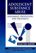 Adolescent Substance Abuse Book PDF