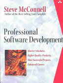 Professional software development