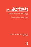 Taxation by Political Inertia