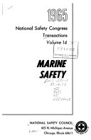 Transactions   National Safety Congress