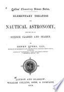 Elementary Treatise on Nautical Astronomy
