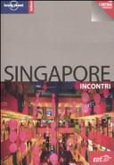 Copertina Libro Singapore. Con cartina