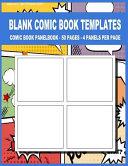 Blank Comic Book Templates